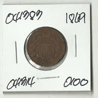 1869 TWO CENTS -  041383