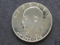 1776 1976 S CLAD PROOF TYPE 2 EISENHOWER DOLLAR ROLL OF 20 COINS