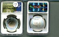 2014 $1 BASEBALL HALL OF FAME L.A. DODGERS  NGC PF 69 ULTRA CAMEO 1738H