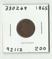 1865 INDIAN HEAD CENT  330269