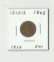 1865 INDIAN HEAD CENT    121212