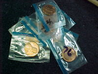 1998 D & P  LINCOLN MEMORIAL PENNIES BU FROM US MINT SET