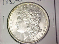 CHOICE AU 1883 O MORGAN SILVER DOLLAR FLYING MONKEY COIN 1 1016