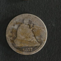 1877 CC SEATED LIBERTY QUARTER GREAT DEALS FROM THE TECC BARGAIN BIN