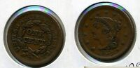 1851 BRAIDED HAIR LARGE CENT XF 4294B
