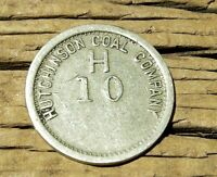 1900S MT. CLARE WEST VIRGINIA WV GHOST TOWN HARRISON CO HUTCHINSON COAL TOKEN