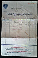 1932 CANADA MONTREAL CAISSE NATIONAL D'ECONOMIE CHEQUE