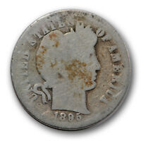 1895 O 10C BARBER DIME ABOUT GOOD AG NEW ORLEANS MINT R1211