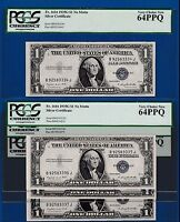 CHOOSE ONE NOTE OF 28  FR.1616 PCGS 1935 G  $1  SILVER CERTIFICATE B 92583334 J