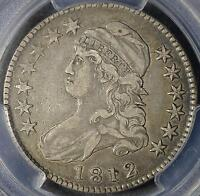 1812 PCGS VF30 CAPPED BUST HALF DOLLAR  OLD 90 SILVER COIN SHIPS FREE