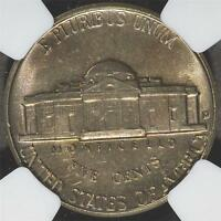 1957 D NGC MS66 JEFFERSON NICKEL SUPERB GEM 5 CENTS US COIN 086 SHIPS FREE