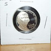 2008 S CAMEO PROOF JEFFERSON NICKEL 5 CENTS