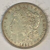 1921 D MORGAN SILVER DOLLAR   CHECK THE  HIGH QUALITY SCANS C452