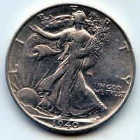 WALKING LIBERTY HALF 1940-S SEE PROMO