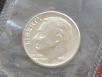 1962 D ROOSEVELT SILVER DIME FROM U.S. MINT SET UNCIRCULATED C9332