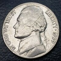 1939 JEFFERSON 5 CENTS NICKEL   FREE COMBINED SHIPPING