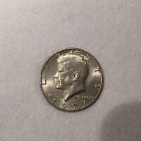 1977 JOHN F. KENNEDY HALF DOLLAR   US COIN