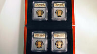 2008 S $1 ICG PR70 DCAM PROOF PRESIDENTIAL DOLLAR SET 4 DOLLARS IN BOX