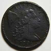 1794 HEAD OF 1794 DRAPED BUST LARGE CENT  COIN LOT MZ 3525