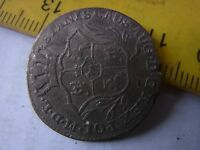 2 GROSCH 1769 OLD SILVER COIN
