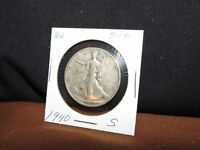 1940-S SILVER WALKING LIBERTY HALF DOLLAR COIN-CONDITION AS PICTURED