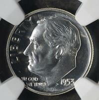 1953 NGC PF69 ROOSEVELT DIME COLLECTIBLE PROOF SILVER 10 CENTS SHIPS FREE PR69