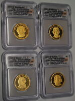 2007-S PRESIDENTIAL DOLLAR PROOF SET ICG PR 70 DCAM 1ST DAY OF ISSUE