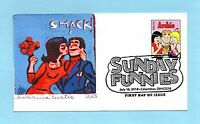U.S. FDC 4469  SABRINA CURTIS CACHET ARCHIE FROM SUNDAY FUNNIES