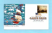 U.S. FDC 4805  CURTIS CACHET - BATTLE OF LAKE ERIE FROM THE WAR OF 1812 SET