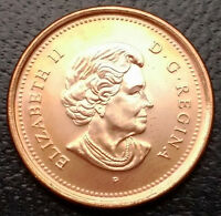 MINT CONDITION 2006 P MAGNETIC CANADA 1 CENT PENNY   FREE COMBINED SHIPPING