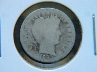 1895 O BARBER DIME  KEY DATE NEW ORLEANS MINT LOW MINTAGE 440,000