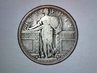 1917 S TYPE 1 SL QUARTER VG CONDITION