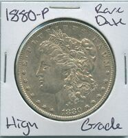 1880 P MORGAN DOLLAR  DATE US MINT SILVER COIN HIGH GRADE