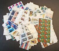 FACE $55.52 IN 168 DIFFERENT MNH 1958-1972 2C-15C US PLATE BLOCKS / 830 STAMPS