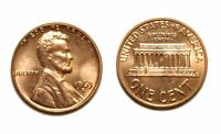 1963 D/D LINCOLN CENT    CONECA RPM 003 UNCIRCULATED BU RED 236