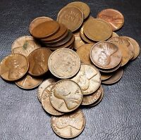 LOT OF 40X 1953-D LINCOLN CENTS / WHEAT PENNIES - GREAT VALUE