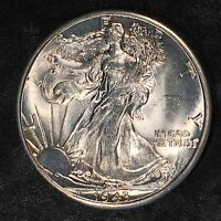 1943-D WALKING LIBERTY HALF DOLLAR - UNCIRCULATED - HIGH QUALITY SCANS E929