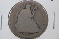 1876 SEATED HALF AG