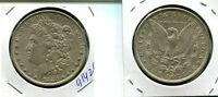 1880 O MORGAN SILVER DOLLAR AU 9142G