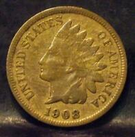 1908 S INDIAN HEAD CENT IDMM283