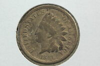 1861 INDIAN CENT G