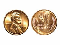 1955 D  LINCOLN CENT   CONECA RPM 005 CHOICE BU RED  874