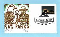 U.S. FDC 5080N  DAVE CURTIS CACHET - YELLOWSTONE NATIONAL PARKS CENTENNIAL