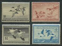 US BETTER MNH CLASSIC STAMP COLLECTION DUCK STAMPS HUNTING PERMITS CV $280.00