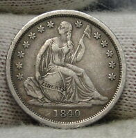 1840 SEATED LIBERTY DIME 10C    NICE COIN  6259