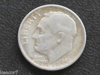1949 S ROOSEVELT DIME 90 SILVER U.S. COIN D4241