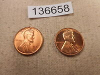 1953 D   1951 S LINCOLN WHEAT CENTS - HIGH GRADE COLLECTIBLE COINS -  136658