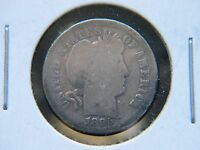 1895 O 10C BARBER SILVER DIME SUPER  KEY DATE NEW ORLEANS MINT LOW MINTAGE