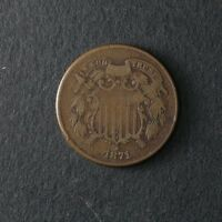 1871 TWO 2 CENT PIECE GREAT DEALS FROM THE TECC BARGAIN BIN