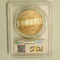 1879 S PCGS MINT STATE 64  MORGAN SILVER DOLLAR, COLOR TONE RUSSETS, MINT STATE 64 PLUS COIN